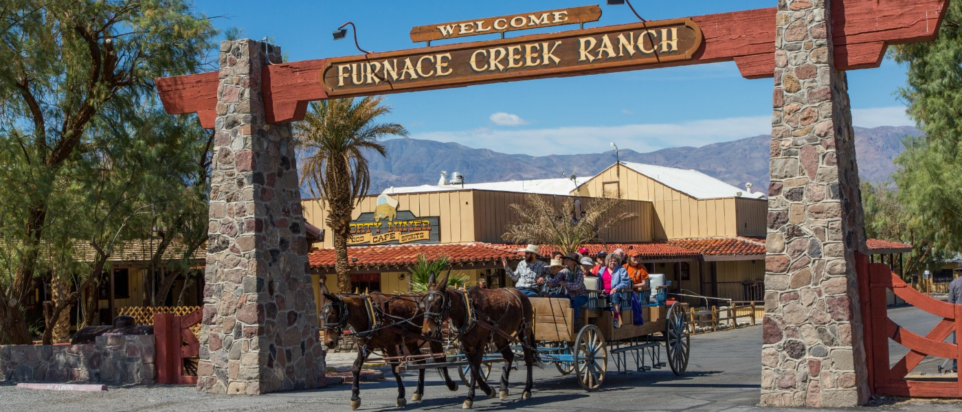 Resort transportation to and from Furnace Creek Airport, National Park Service Visitor Center, the Inn and within the Ranch complex In-room coffee Taxes and surcharges are subject to change.