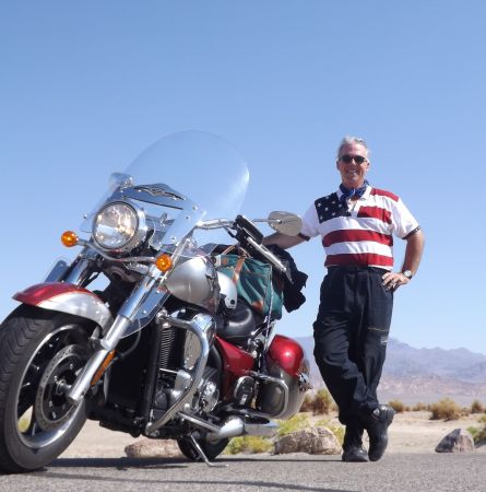 Easy Rider: Death Valley by Motorcycle