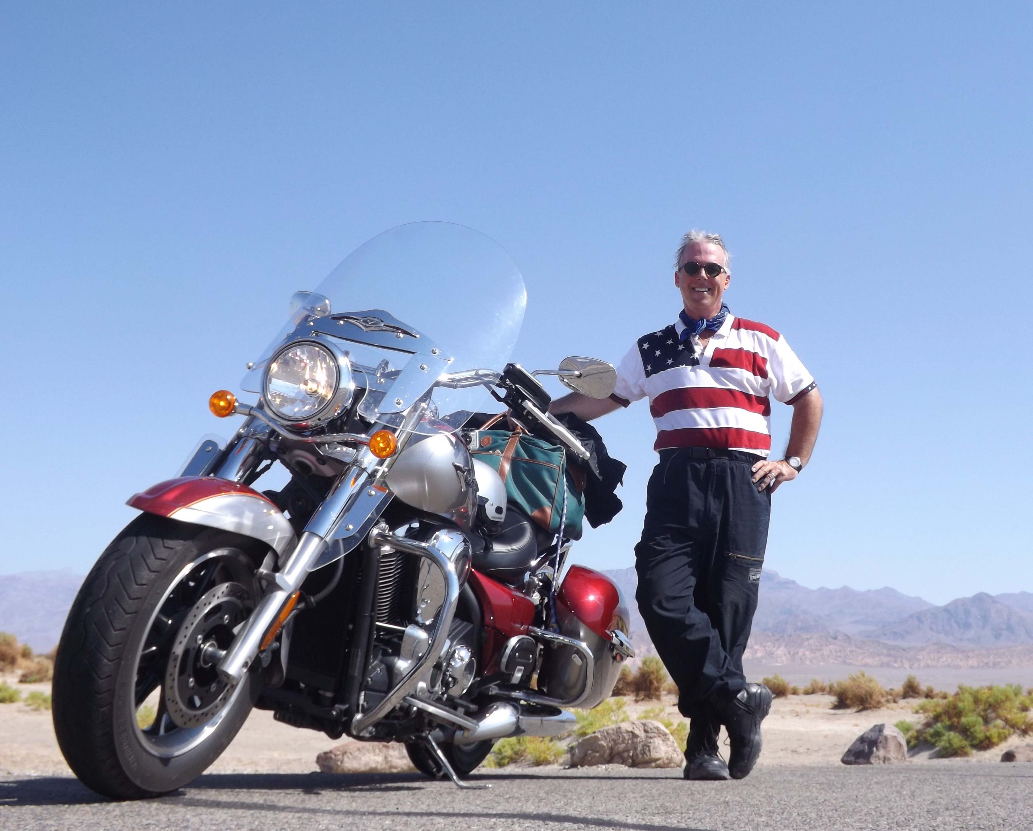 Death Valley by Motorcycle