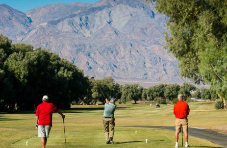 Furnace Creek Golfers