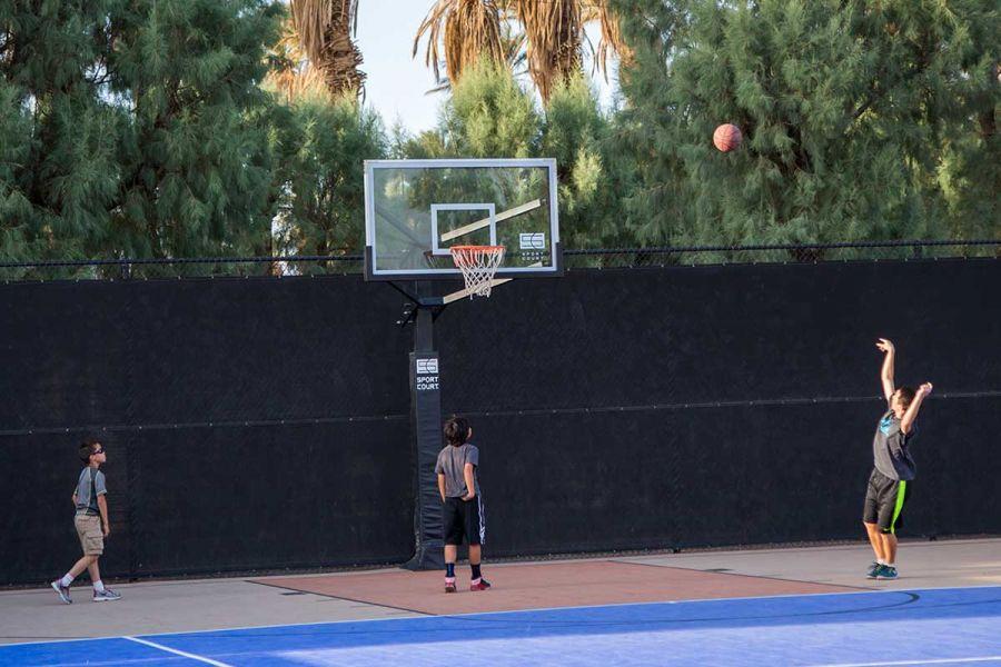 Ranch basketball