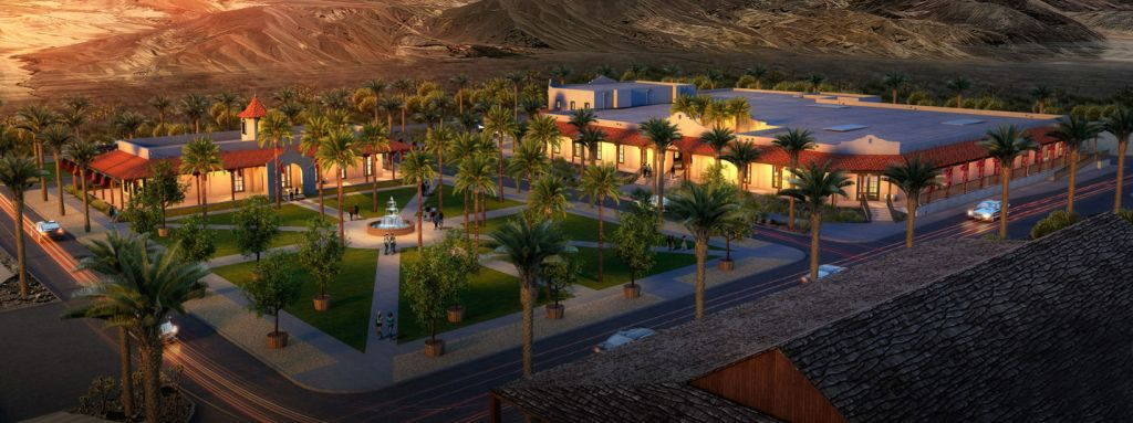 Ranch at Death Valley Rendering