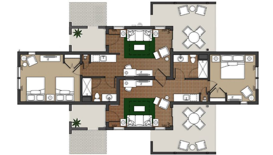 Casita Floor Plan