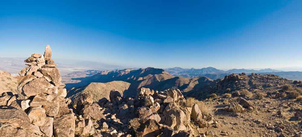 Dantes View at Death Valley National Park.