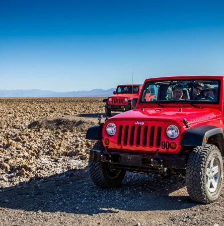 Rev Your Engines! Test Your Driving Chops in Death Valley