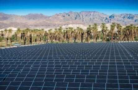 Solar panels at the Ranch
