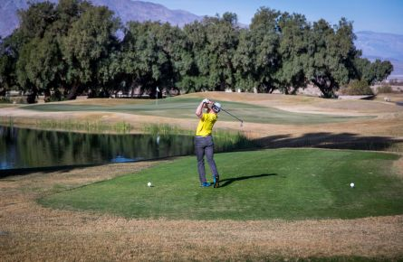 19th Hole At The Furnace Creek Golf Course Valley