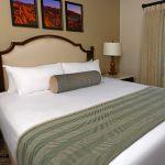 Inn casita bedroom with king bed