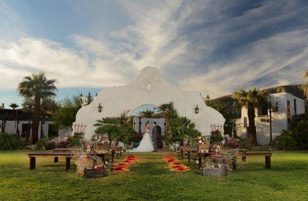 Mission Gardens Wedding Couple